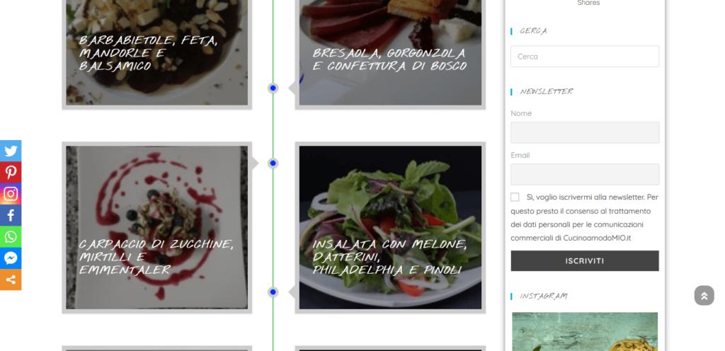 Cucinoamodomio.it - Portfolio