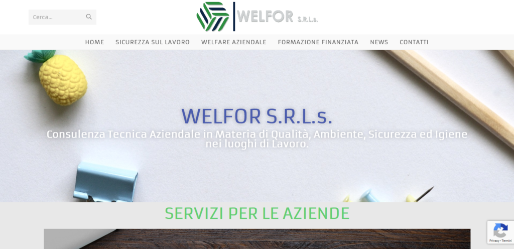 Home - Welfor S r l s