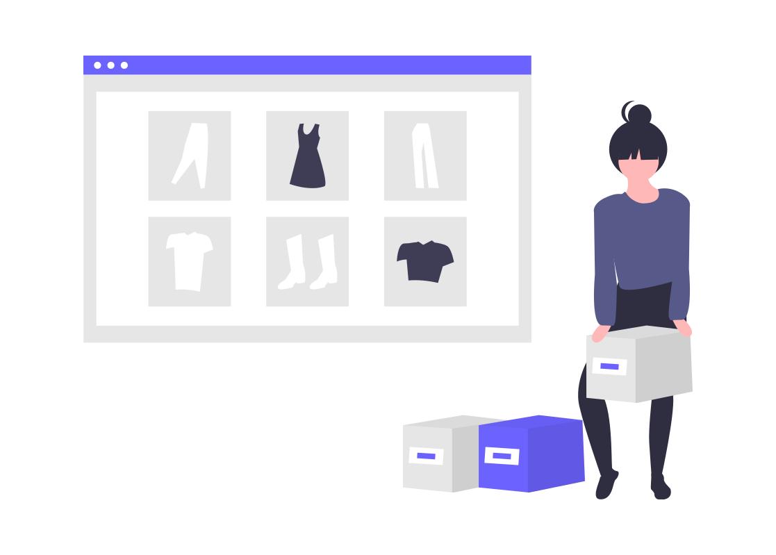 siti web shopping crea