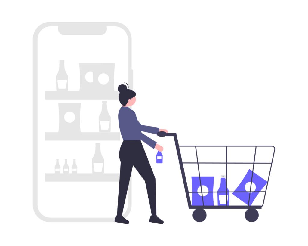 undraw shopping app flsj